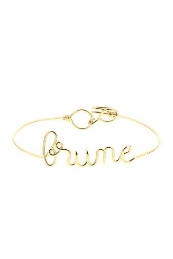 Atelier Paulin / Bracelet Brune en cuivre doré