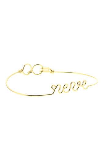 Atelier Paulin / Bracelet Rêve en cuivre doré