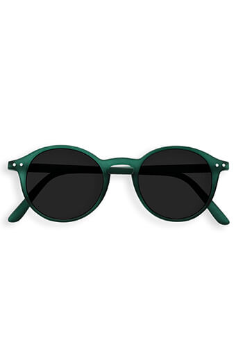 See Concept Izipizi / Lunettes solaires #D Green Crystal grey lenses