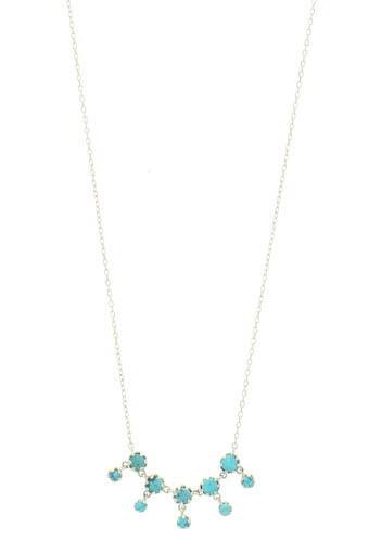 Pascale Monvoisin / Collier Lara n° 1 turquoise