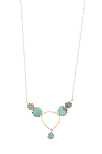 Pascale Monvoisin / Collier Lara n° 2 turquoise