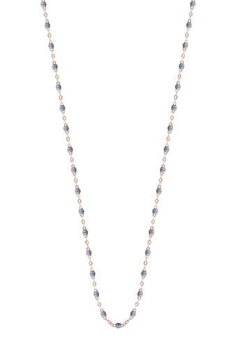 Gigi Clozeau / Sautoir or rose et perles de résine 86 cm