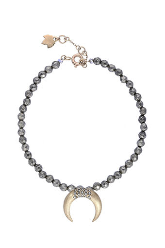 Feidt / Bracelet Corne Lune or jaune 9 carats