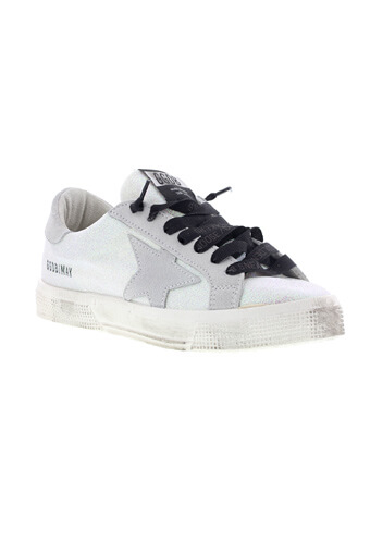 Golden Goose / Sneakers May white glitter