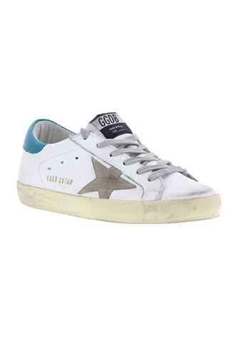 Golden Goose / Sneakers Superstar  white petrol