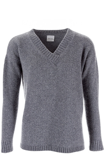 Anine Bing / Pull en cashmere oversize gris