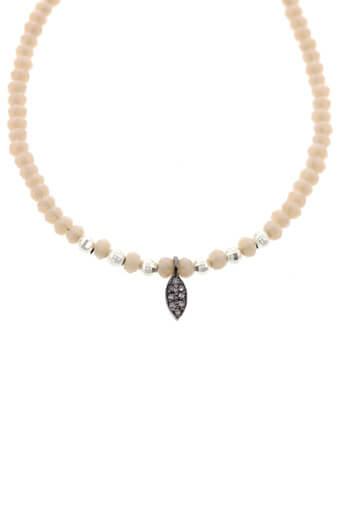 Catherine Michiels / Bracelet Bohémien en crystal et diamants