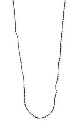 Catherine Michiels / Collier lien avec des perles