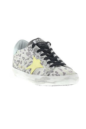 Golden Goose / Sneaker superstar glitter leopard