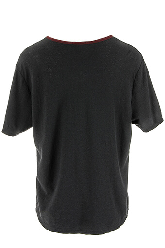 James Perse / Tee shirt col bicolore