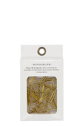 Monograph / Clips triangle, 20 pcs/pack, Monograph