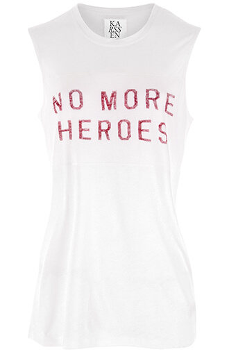 Zoé Karssen / Tee shirt manches courtes No More Heroes