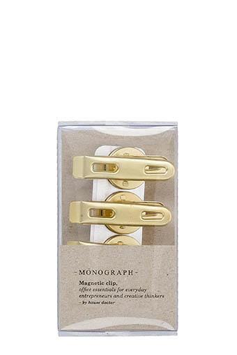 Monograph / Set de 4 clips magnétiques, Monograph