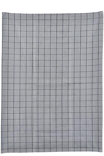 Nicolas Vahé / Torchon à carreaux  gris