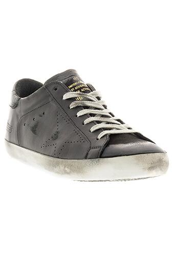 Golden Goose / Sneakers Superstar black skate