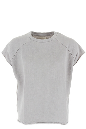 6397 / Sweat-shirt Rolled cut-off