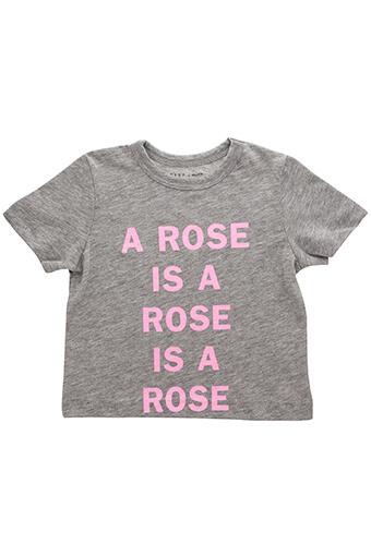 6397 / Tee-shirt A rose is ...