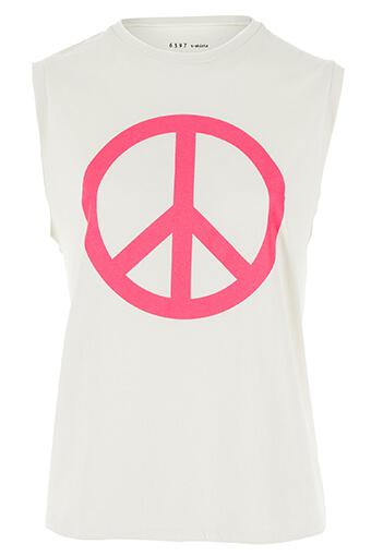6397 / Débardeur Peace NY