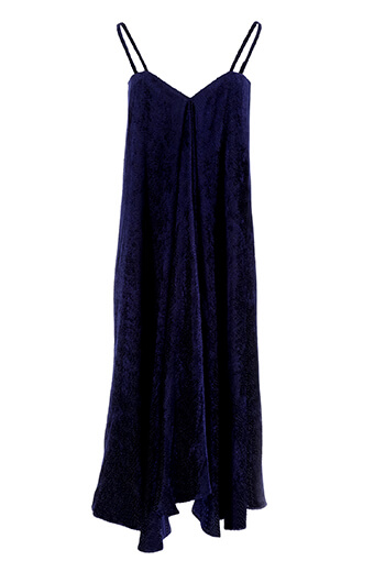 Roseanna / Robe longue Plumetis Davis