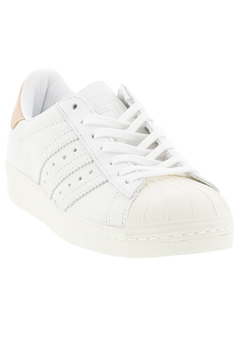 Adidas Originals / Superstar patch cuir