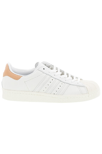 Adidas Originals / Superstar patch cuir