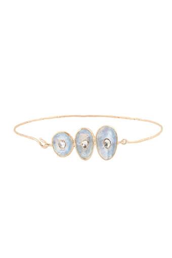 Pascale Monvoisin / Bracelet Louise n°3 Pierre de lune