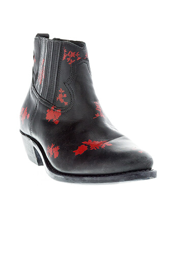 Golden Goose / Boots Red Flowers
