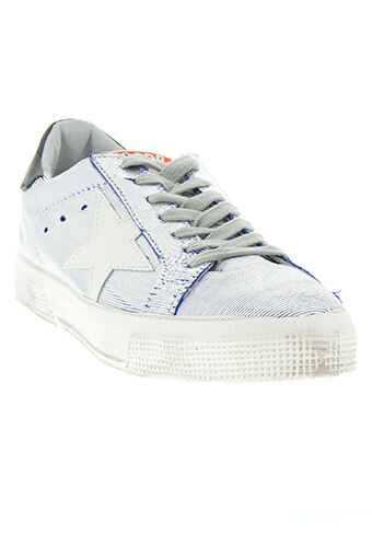 Golden Goose / sneakers may Bluette silver