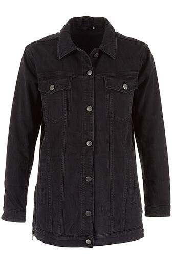 Blk Dnm / Veste en jean noir oversize