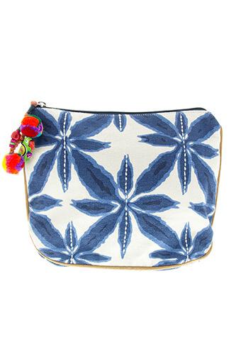 Star Mela / Pochette fleur bleue