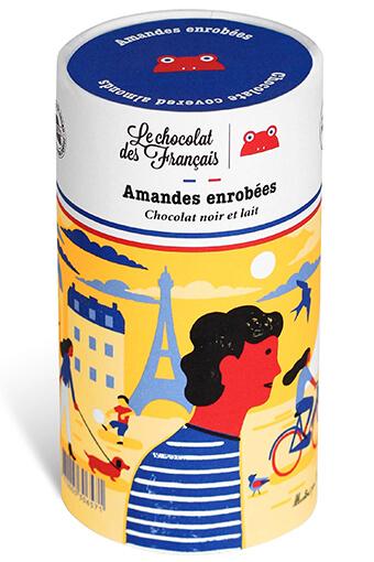 Le chocolat des Français / Coffret d'amandes enrobées