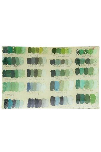 John Derian / Plateau à lettres Painter's studio
