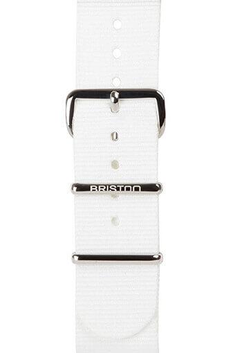 Briston / Bracelet spécial NATO blanc 245mm