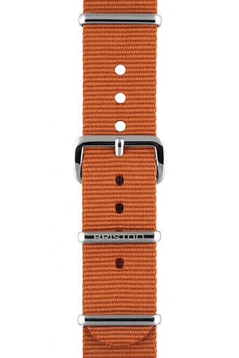 Briston / Bracelet type NATO marron 230mm - Clubmaster Chic