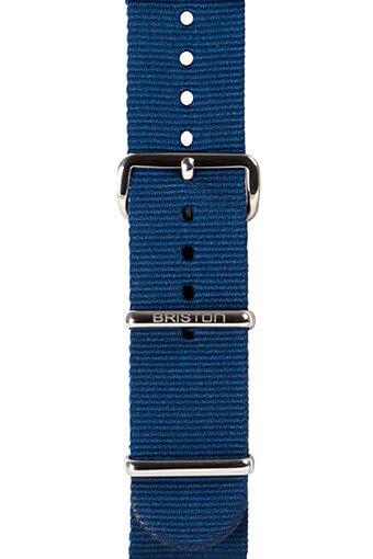 Briston / Bracelet type NATO bleu marine 230mm - Clubmaster Chic