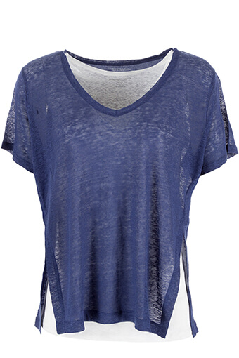 Majestic Filatures / Tee shirt double en lin