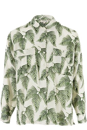 Soeur / Chemise palmier