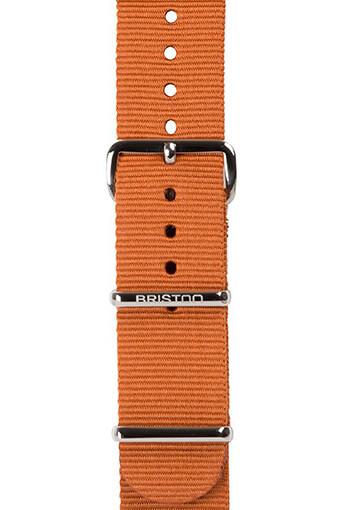 Briston / Bracelet nato marron 280mm