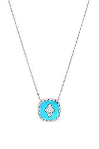 Pascale Monvoisin / Collier Pierrot  n°2 Turquoise et diamants