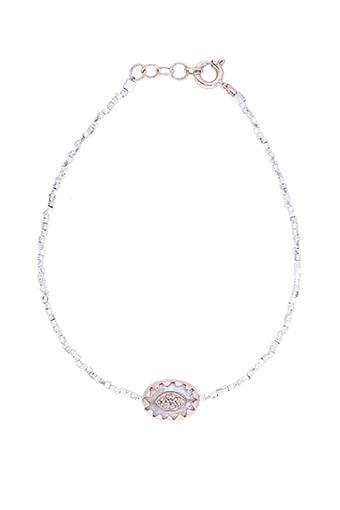 Pascale Monvoisin / Bracelet Montauk perles argent Moonstone