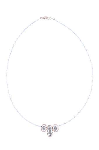 Pascale Monvoisin / Collier Montauk  blanc et diamants n°2