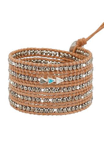 Chan Luu / Bracelet Pyrites