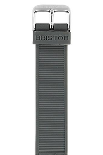 Briston / Bracelet interchangeable en silicone - Gris