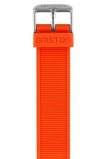 Briston / Bracelet interchangeable en silicone - Orange