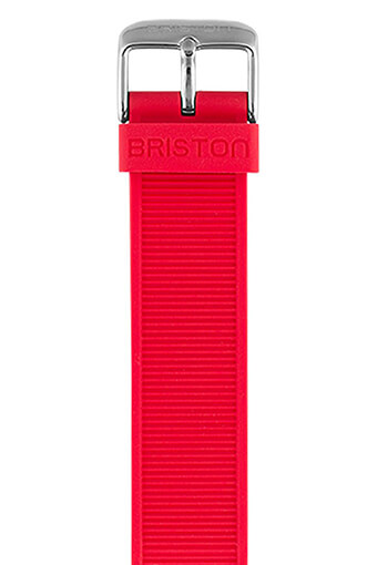 Briston / Bracelet interchangeable en silicone - Rouge