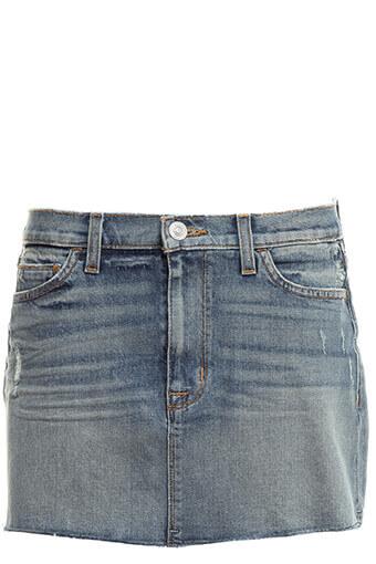Hudson / Vivid Denim Mini Skirt