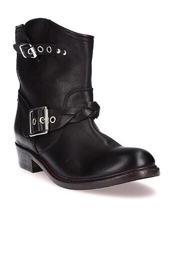 Golden Goose / Boots Karen en cuir noir