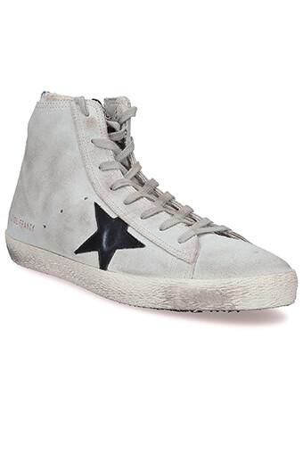 Golden Goose / Sneakers Francy, perle et étoile noir