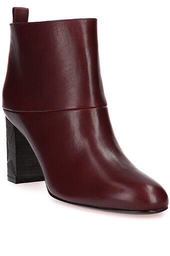 Golden Goose / Boots Greta cuir bordeaux