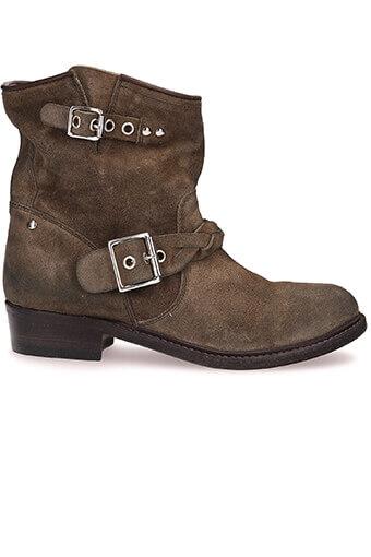 Golden Goose / Boots Karen cuir suédé militaire